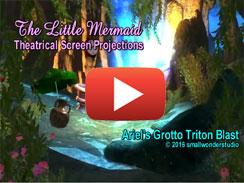 Ariel's Grotto Triton Blast