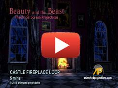 CASTLE FIREPLACE LOOP 5 mins