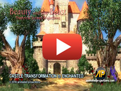 CASTLE TRANSFORMAION to ENCHANTED