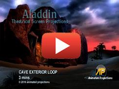 CAVE EXTERIOR LOOP 3 mins