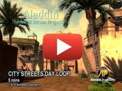 CITY STREET DAY LOOP 5 mins