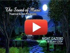 Night Gazebo 8min LOOP