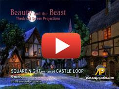 SQUARE NIGHT enchanted CASTLE LOOP
