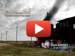 TRAIN ARRIVES