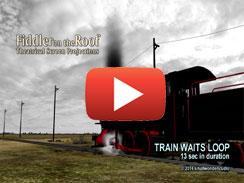 TRAIN WAITS LOOP 13 sec