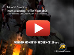 Winged Monkeys Sequence 26sec