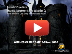 Witches Castle Gate 2 25sec LOOP