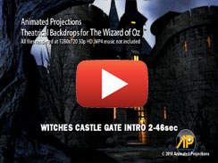 Witches Castle Gate Intro 2 46sec