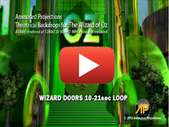 Wizard Doors 10 21sec LOOP