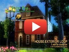 HOUSE EXTERIOR LOOP 1 min