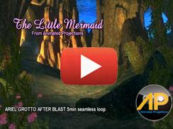 02012 Ariel's Grotto After Triton Blast 5min LOOP